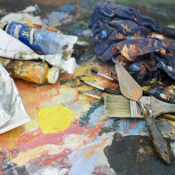 crea-atelier, creatief, schilderen, knutselen, jongdementie, de companjong