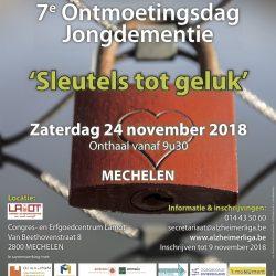 ontmoetingsdag jongdementie, alzheimer liga vlaanderen, 2018