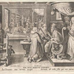 plantin moretus museum, antwerpen, kweek van de zijderups, jongdementie